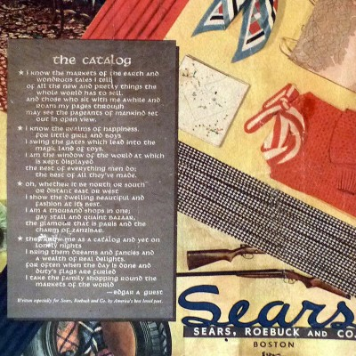 1933: Sears Commissions a Poem