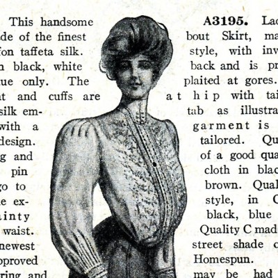 Spring Fashions for 1905: $2.95 and $3.95