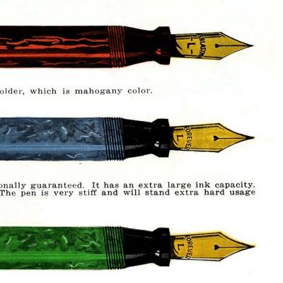 """A Gold Pen – a """"Dandy Seller"""""""