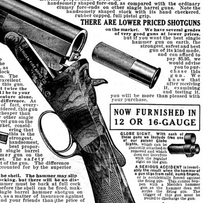 The Handsomest, Safest, Strongest Single Hammer Gun Made in America