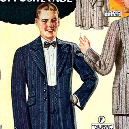 "The 'Gay White Way ""Jazz"" Suit'"