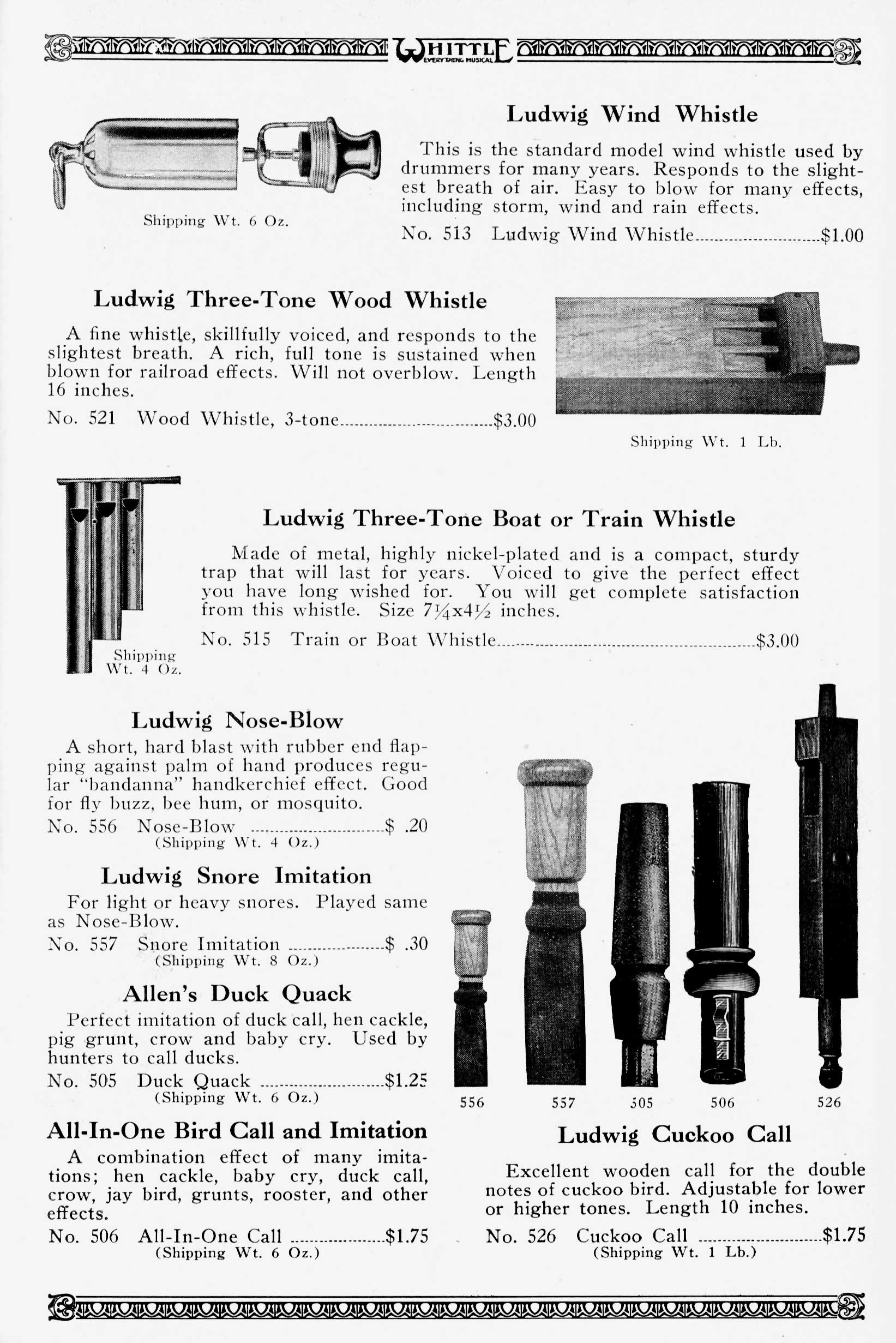 The Sounds of Silents - Whittle Music, 1927 - The Catalog Blog