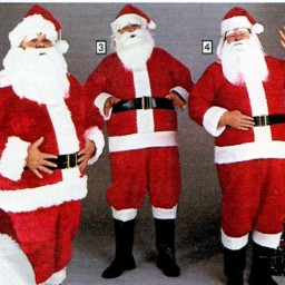 Here come Santa Clauses…from Sears