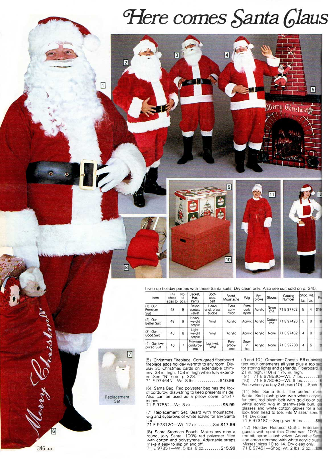 1f4d198ce Here come Santa Clauses...from Sears - Sears Wishbook