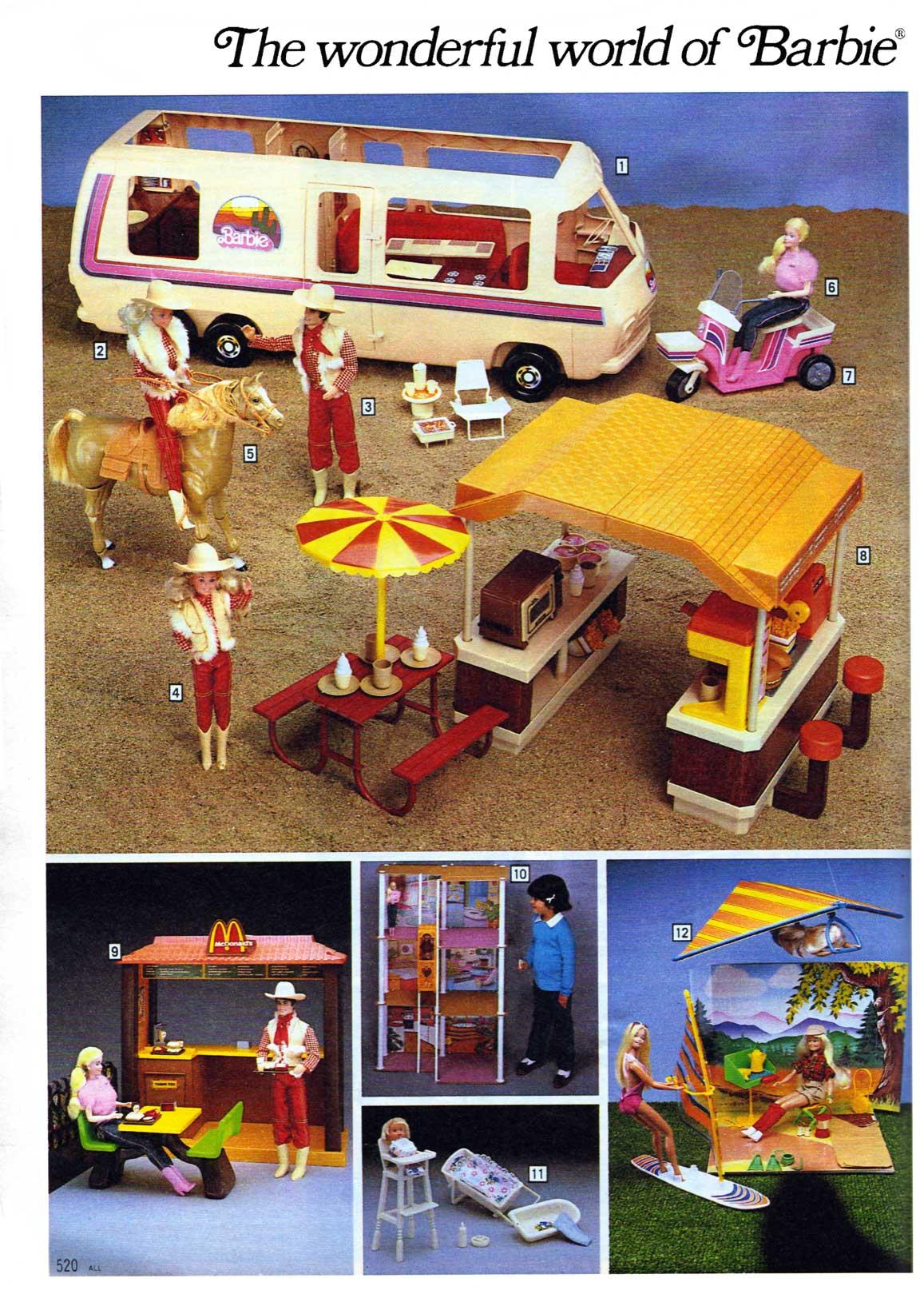 Sears Christmas Wish Book.Barbie S World Sears Christmas Wishbook 1983 The