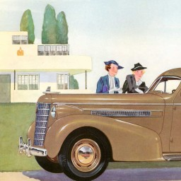 Streamline Moderne, in home and car