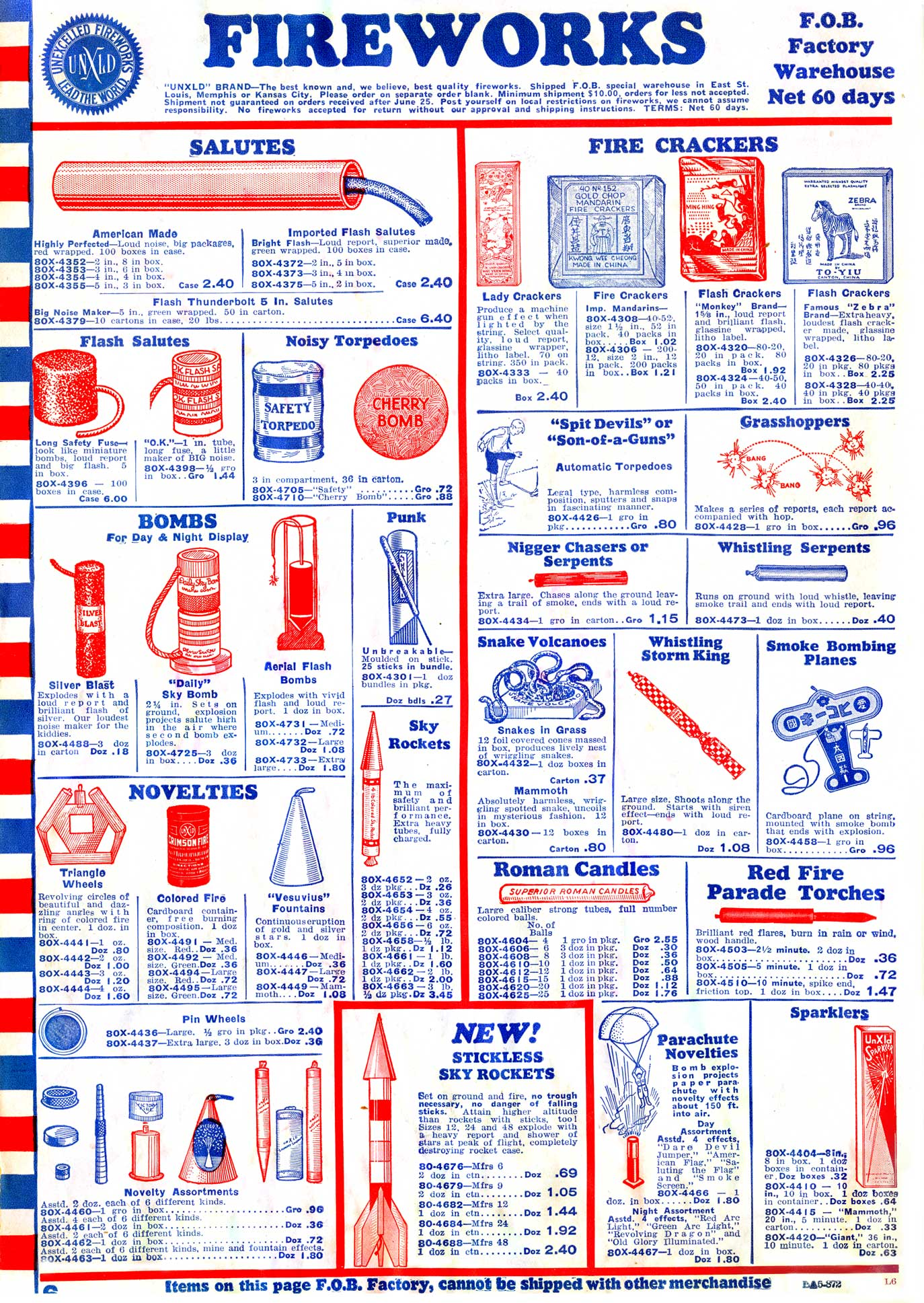 Fireworks - Butler Brothers, 1935 - The Catalog Blog
