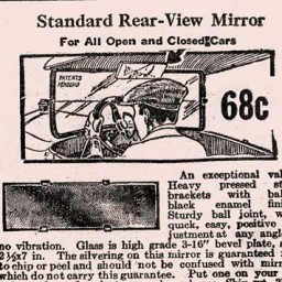 """Rear View Mirrors Prevent Many Serious Accidents"""