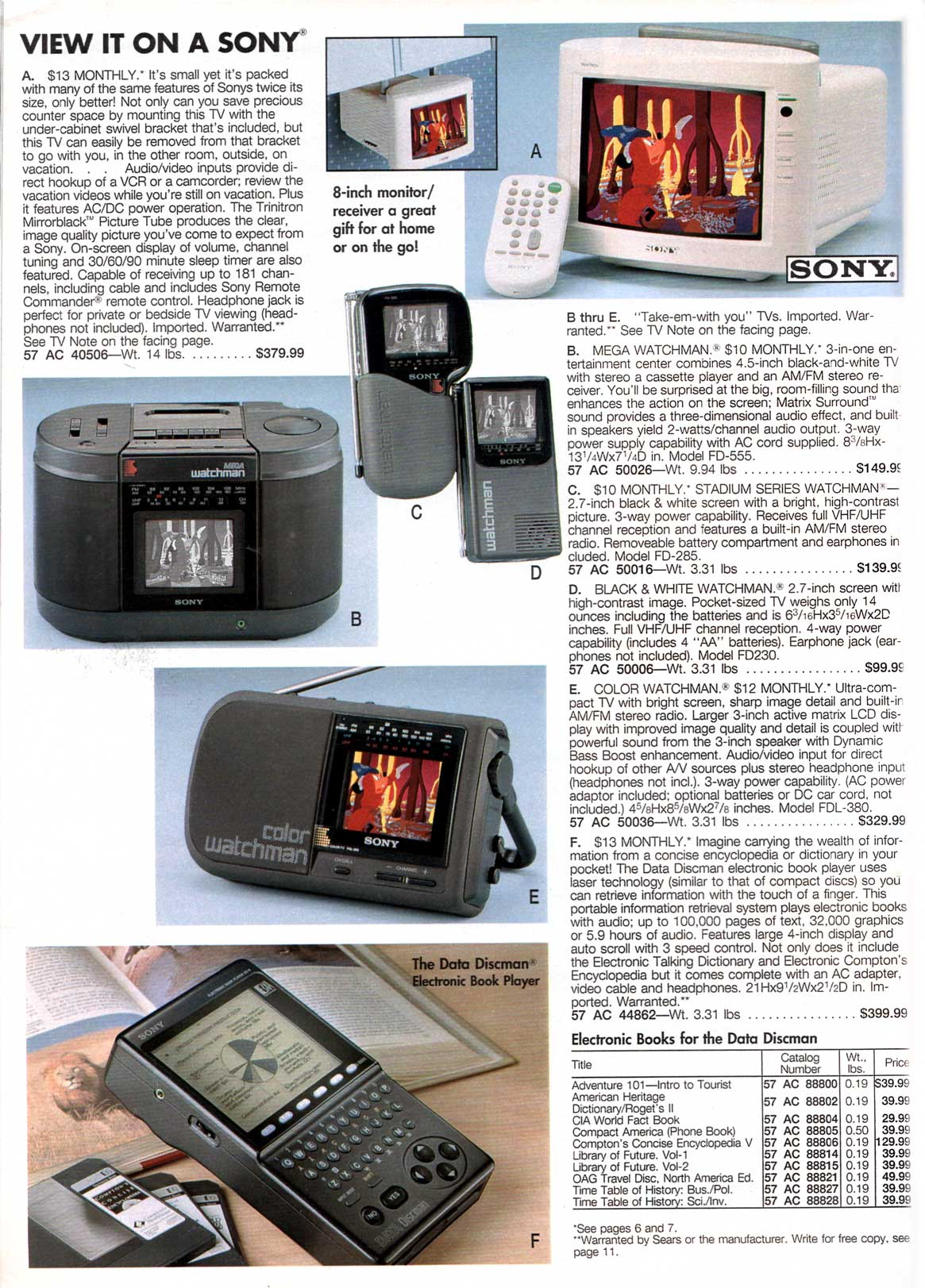 The Trouble with Tech - Sears, 1992 - The Catalog Blog