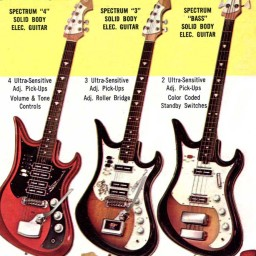 A Gaggle of Groovy Guitars