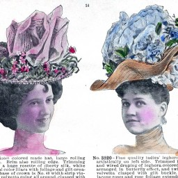 Spring and Summer Hats, in Assorted Colors